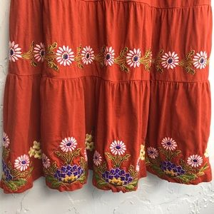 Johnny Was Dresses - Johnny Was Embroidered Swing Daisy Dress
